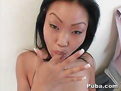 Hot Asian Lucy Lee POV Anal