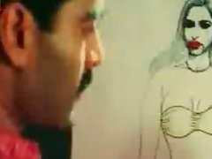 Classic Indian gorgeous mallu Reshma exposing clevage in Pyasi Tasveer movie