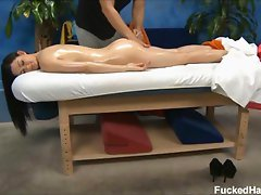 Kendall Karson seduced and fucked hard by her massage therapist