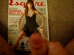 Cum Tribute - Sandra Bullock (Esquire Magazine)