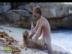 hardcore fuck on the luxury beach