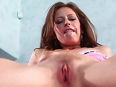 Hardcore slut Liza Harper massive fuck and