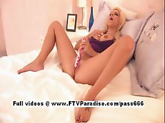 Tess tender lovely woman toying