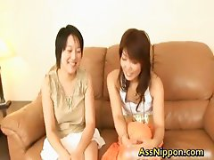 Exciting real asian dykes Testing
