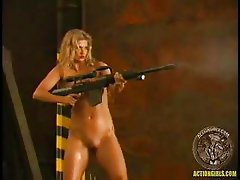 Action Girl - Amy Easton Shoot Out