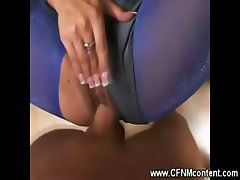 CFNM MILF sucks and fucked by hard cock