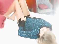 Unleashed fantasies of blondie beauty
