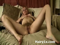 Hairy Cunt Rammed Wild And Kinky Perversion