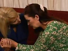 Milf rug munchers Erica Lauren and Magdalene St Michaels play with pussy