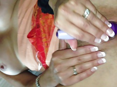 cumming and fucking with hubby at casino
