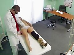 Dirty doctor screws her very hot patient