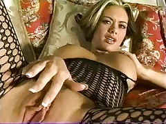 Crissy Moran Fishnet Bodysuit Fuck