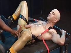 Manly Black Master vs Sub White Slut