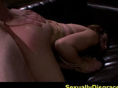 FetishNetwork Marley Blaze rope with rough hard sex