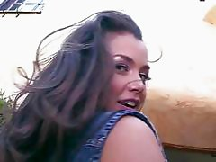 Big booty Allie Haze enjoys hard sex