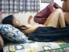 Couple on the Bed (listen the bed noise)