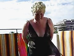 Watch my slut old wife