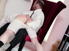 Punished mormon jerked