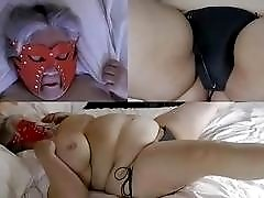 Abusing time with fat mature slave slut and BDSM master