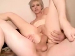 Girl gets her ass wrecked by a monster cock