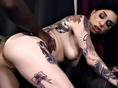 ass pounded tattooed goth
