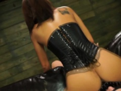 Bdsm domina bangs slave