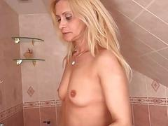 OldNanny Blonde matures masturbate and fingers