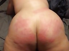 Beating slut Dahlias ass