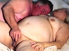 Chubby amateur wife gets her snatch eaten out and fucked