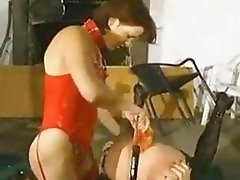 Cute young tranny shemale slut uses another irls mouth on her pentis