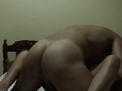 European tourist fucks black Latin hottie in this homemade
