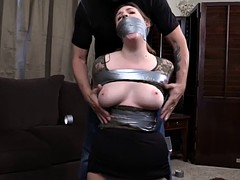 Attractive blonde babe gets inbound and humiliated
