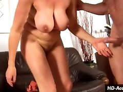 Blonde honey gives a great titty fuck