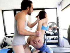 TheRealWorkout - Teen Stretched Out By Dad's Friend
