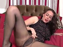 sexy milf going solo pantyhose #mrbrain1988