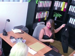 Female Casting Agent Fuck with Young German Teen Couple
