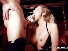 Lexi Lowe Takes a Fat Cumshot to Her Big Natural Tits
