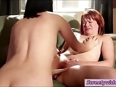 MILF Kimberly finger fucks Claires pussy