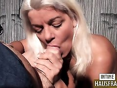 Blonde German Milf with toys