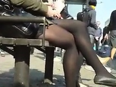 European Girls Wearing Pantyhose