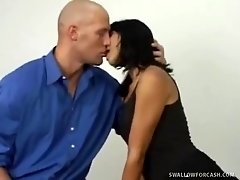 Dana Vespoli Hammered In The Mouth And Vag