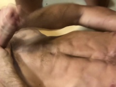 Buff contractor spunked