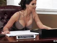 Fantastic orgy fucking with busty secretaries