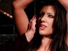 Gorgeous busty girl getts bondaged and punished