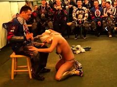 Alexus Big Boobs Striptease