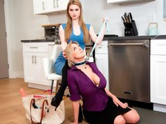 Good-looking chicks Dee Williams and Bunny Colby are getting pleasure