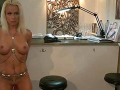 Explicit love tunnel punishment for an sex slave