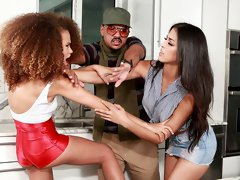 There's nothing worse than an on-set spat between co-stars, and right now Sophia Leone and Cecilia aren't getting along one bit