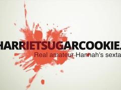 Hannah Sugarcookie handjob and sensual sex