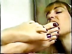 Sexy Toes Sucking
